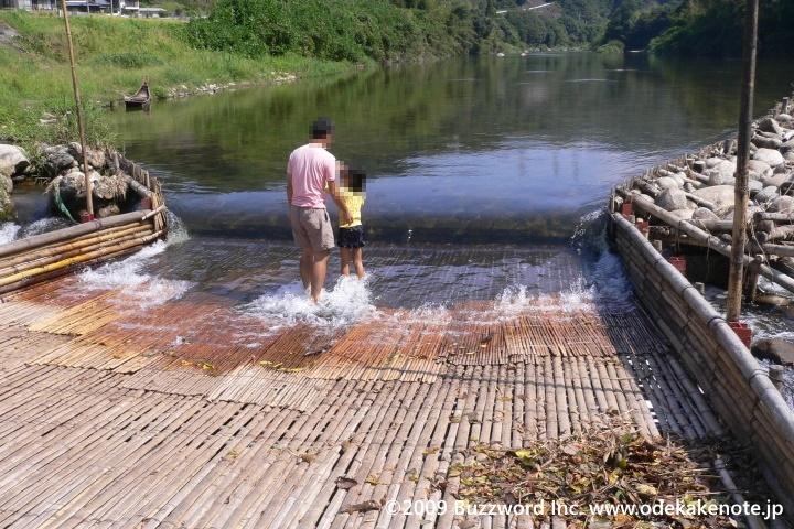 矢作川の観光やな
